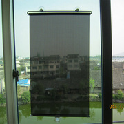 The bedroom balcony sunshade curtain suction heat insulation telescopic curtain shutter sun Home Office