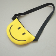 The influx of children children Bag Satchel Purse Bag cartoon smiley baby girls and boys mobile phone bag chest pack