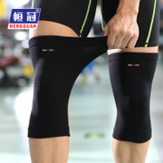 Henguang sports knee running fitness badminton knitting riding mountaineering gear thin men and women