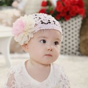 Children hair hair ornaments hair band width infant baby girls hair band tapered genuine flowers