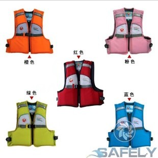 Kids life jacket (single + double) with anti-shedding 6 leg bandages-buoyancy suits