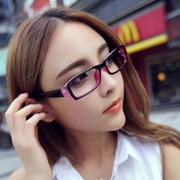 Network red Korean version flows clean glasses radiation fatigue-resistant computer female male General eye-plain mirror