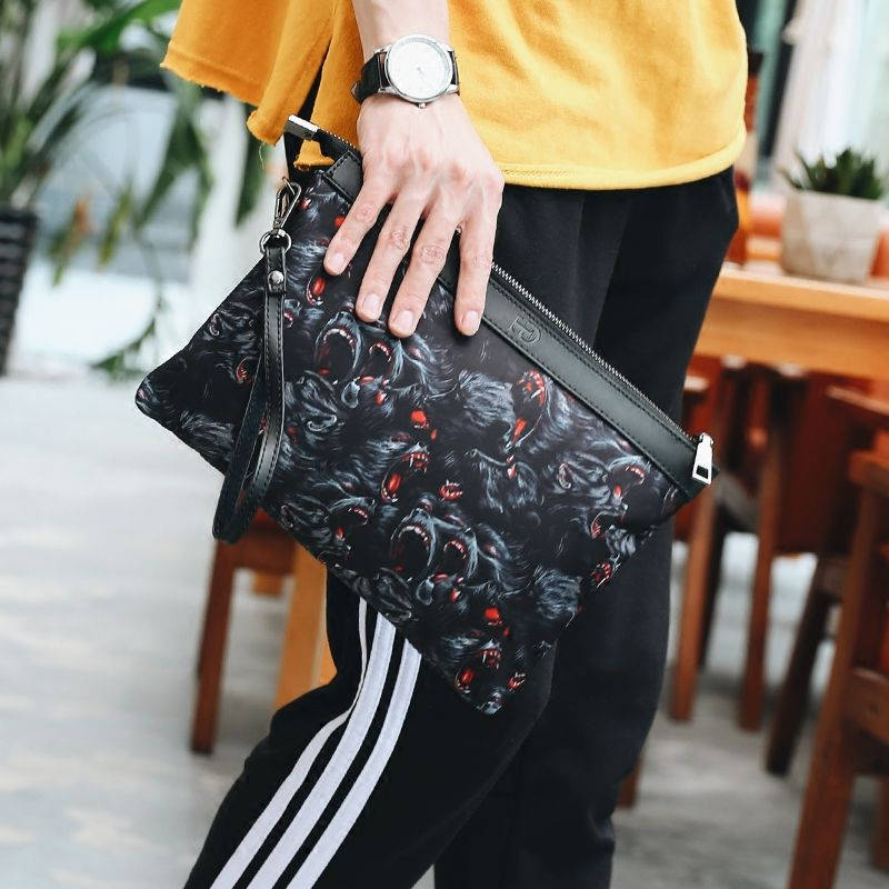 Best selling 2017 new Korean man bag man clutch City boy fashion trend of casual street scenes style