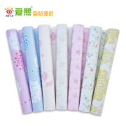 PVC self-adhesive waterproof wallpaper bedroom living room color dormitory furniture renovation package post wall thickening