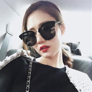 2017 new eye network red lady Sunglasses long face of the star part of the polarized sunglasses sunglasses