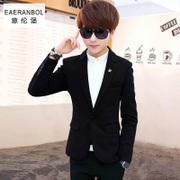 Men fall 2016 new youth leisure suit Metrosexual Slim small suit jacket Korean Students