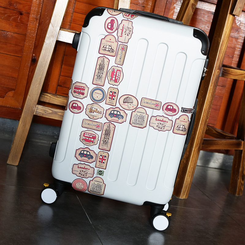 Children stick box 20 inch artillery pupil suitcase universal wheel luggage camouflage password box of men and women