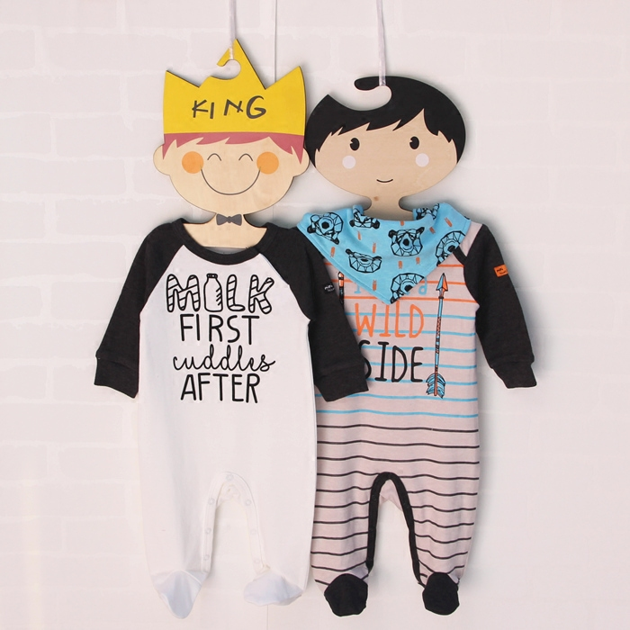 Newborn long sleeved conjoined jacket, head, male, baby, foot, ha, cotton, spring, fall, baby clothes, climbing clothes