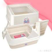 Fat cat large spray deodorant litter top entry type semi-closed basin corner the cat toilet bag mail