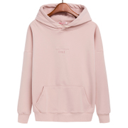 Female hooded sweater with cashmere turtleneck and thin spring Korean students tide code loose Hoodie Jacket