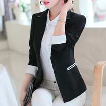 Lei NI 2017 new style Ladys suit small suits long sleeve spring wild girl Korean version of self coat