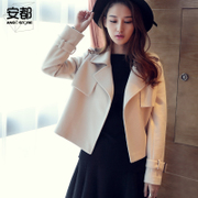 This new winter short wool coat female slim suit jacket jacket coat Korean small fragrant spring tide