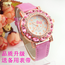 Children's electronic watch waterproof explosion of boys and girls 4-5-6-7-8-9-10 years old girl students table belt