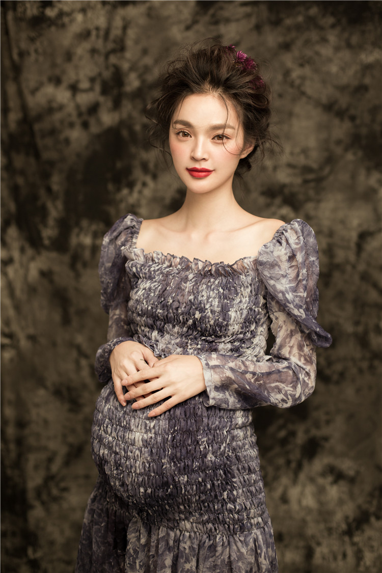 New photography pregnant dress photo studio photography maternity dress mom photos pictorial pregnant women clothing