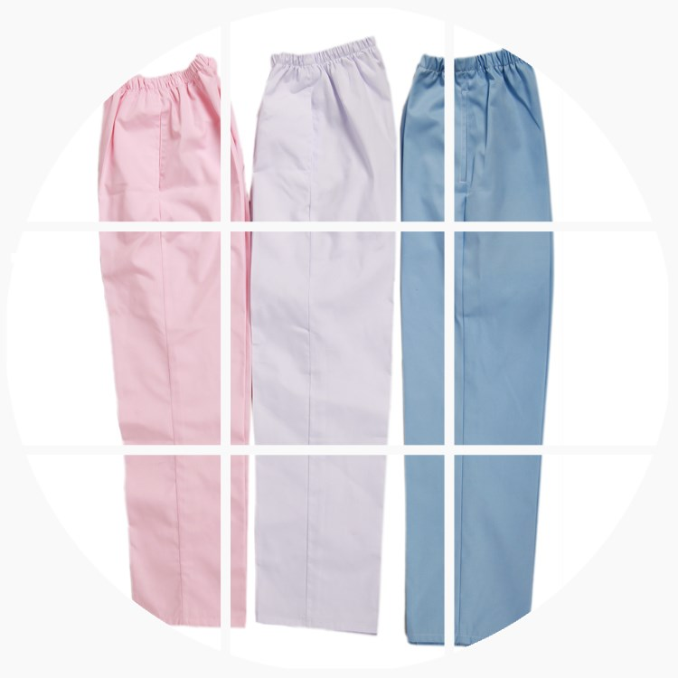 Nurse pants, white, summer nurse pants, blue powder, green stretch, waist work pants, nurse clothes, big size doctor pants
