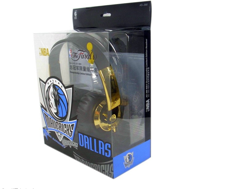 NBA Championship limited edition Headset Headphone AS-390 head-worn basketball fans love the most authentic