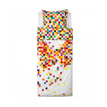 Ai Weiyi purchase IKEA Fuli quilt cover and pillowcase 150*200cm