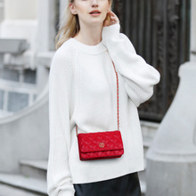 Small bag female 2018 new wave Korean summer summer wild mini fragrant wind Lingge chain bag Messenger bag