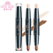 Chinese Etude flagship store double high light shadow shadow stick pen pen & Brightening Concealer stick silkworm