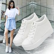 2016 new winter leisure sports shoes in Korean women students all-match shoes white shoe spring tide