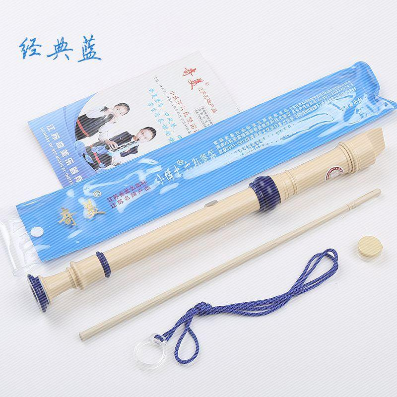 Special offer 6 hole 8 hole flute clarinet six eight hole fingering table cleaning rod with Soprano Recorder