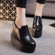 2017 spring and autumn new all-match platform shoes casual shoes women shoes high-heeled shoes women increased over