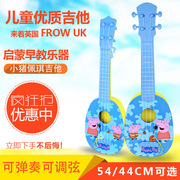 Let the angel pig early childhood page four string guitar play ukulele 44 Mini musical instrument simulation