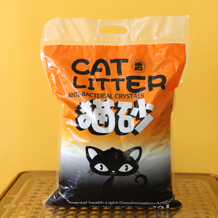 Package mail natural cat litter 10 l cat litter water deodorization to taste High quality cat litter cat