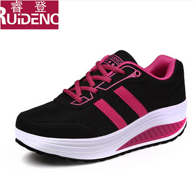 Rui Deng shoes 2015 new spring shoes casual shoes sports shoes and increased thick soles Muffin
