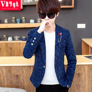 Young men and women of the spring and summer suits suit casual personality style small business suit jacket