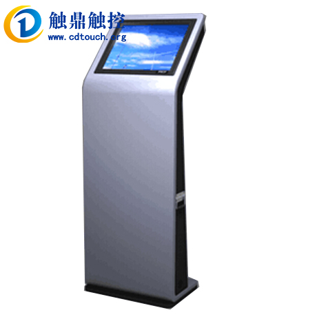 New 19 inch touch-screen kiosk machine/touch/touch/touch tripod touch inquiry machine