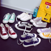 2017 new summer white shoes female Korean ulzzang shoes cloth shoes all-match student Harajuku