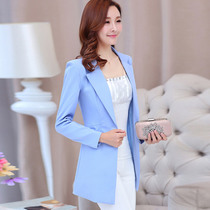 2017 years small Jacket Women newest professional Korean temperament long sleeve slim cocktail casual suit