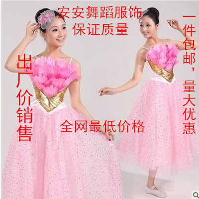 Opening chorus dance and put on dress clothing dance skirt dance costume performance wear stage clothing dance clothing