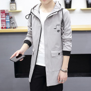2017 new spring coat male Korean spring clothes windbreaker youth men's fashion spring men's jacket