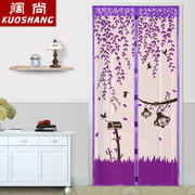 Summer mosquito curtain curtain cloth magnetic Ruansha bedroom kitchen household partition curtain screen Salmonella encryption
