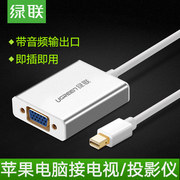 Green Alliance mini dp turn vga converter lightning port cable projector for Apple Macbook