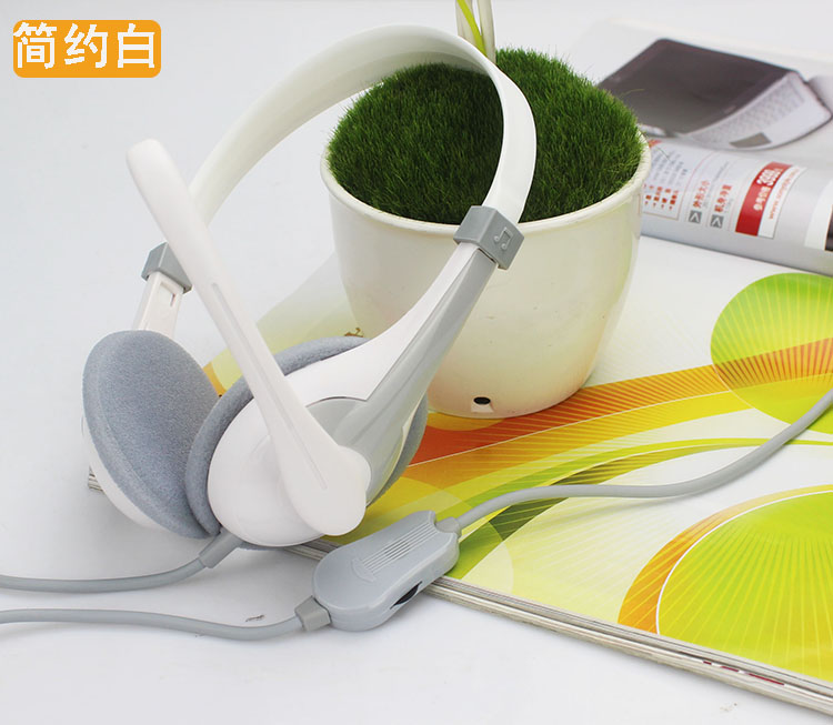 Dell Lenovo ASUS g480 headband headphones headset laptop hole one single plug with wheat boom
