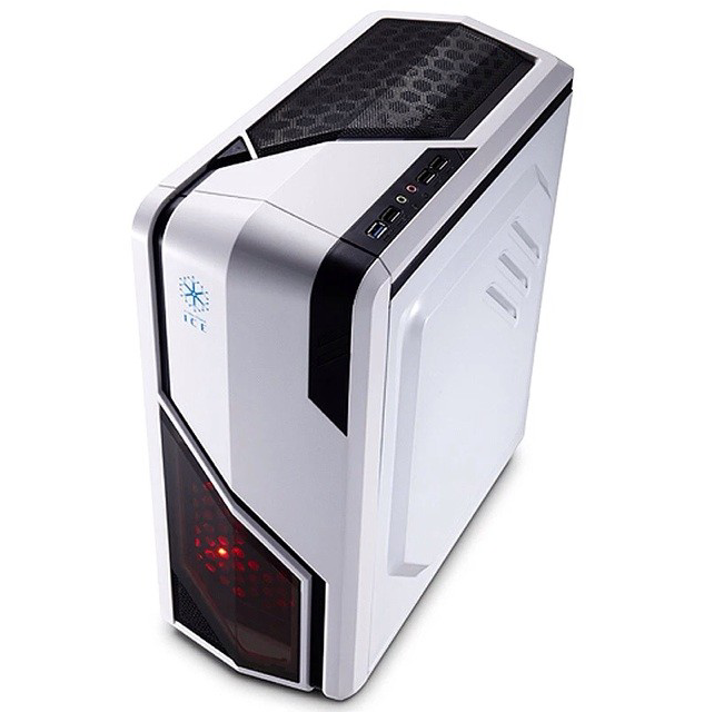 Luxury new desktop computer chassis chassis all-network promotional games box office home chassis