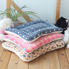 Dog cat mat mat pet cat Teddy Golden Nest kennel sized dog bed winter - thickening pad