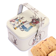 Tmall supermarket TC Cranberry cookies portable rabbit iron gift manual zero leisure food 80g