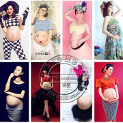 The new version of studio maternity 2017 pregnant women fashion portrait photography photo pregnant Mommy