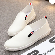 All-match shoes shoes summer white shoes mens shoes slip on loafer shoes Korean student shoes