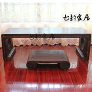 Home Siu tong Qin table wooden Tenon couch table with one ch ' sound box country school teacher's desk