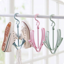 Creative double hook hanging shoes rack home supplies daily necessities practical department store home small things dormitory artifact