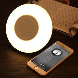 新品上市 手机无线蓝牙音箱 创意智能触控七彩灯光小夜灯迷你音响