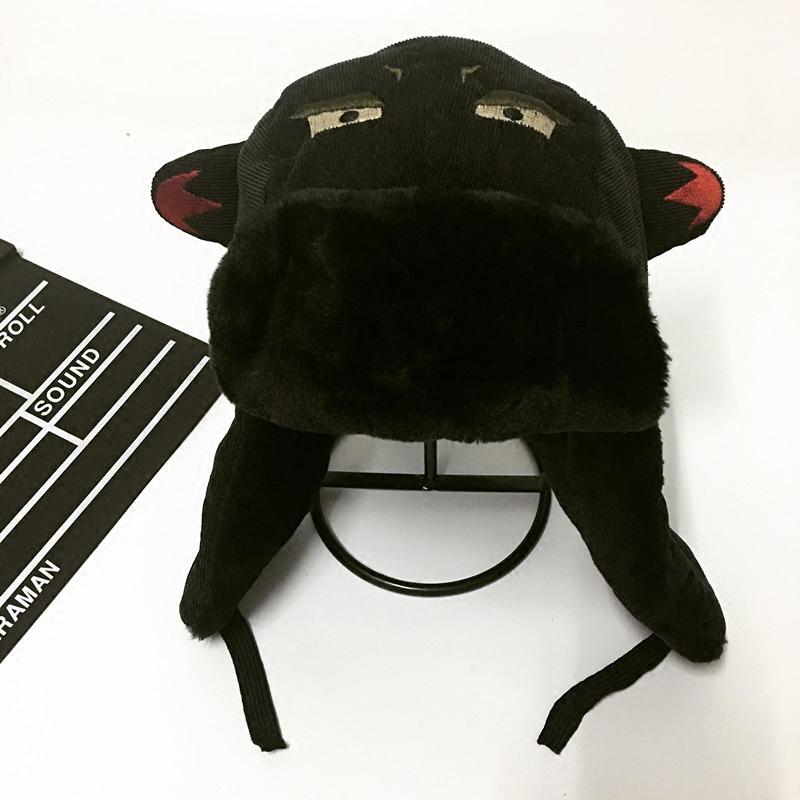 韩版潮人棉帽子男冬季雷锋帽东北女可爱加厚保暖户外青年骑车挡风