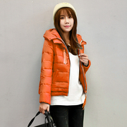 A Korean winter season down jacket female short thick slim slim dress coat tide break code special offer