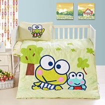 Nursery quilt cotton three sets of core NAP for children seven sets of pure cotton bedding childrens bedding washable