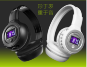 Sports running bluetooth wireless headset, head-mounted card heavy bass mobile computer wireless headset hangers